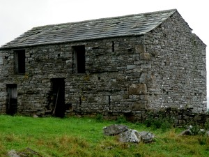 Past stone barns